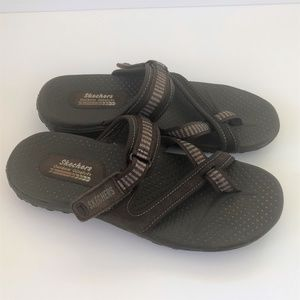 Skechers Outdoor Lifestyle Brown Thong Sandals